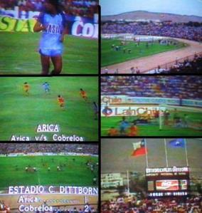 Deportes Arica vs. Cobreloa, enero 1986