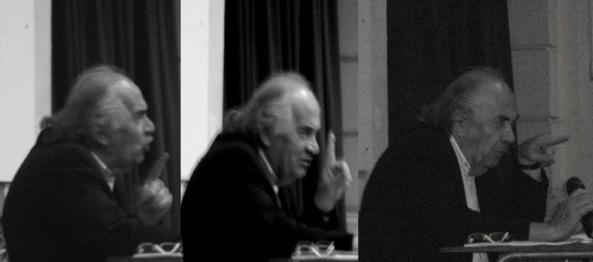 """""""Me gustó esa frase, no sé si será de Serrat que dice: 'Sin utopía, la vida es un mero ensayo para la muerte""""."""