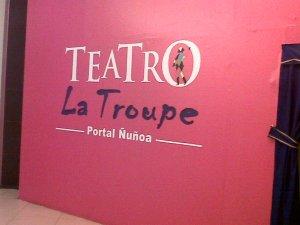 Sala La Troupe.