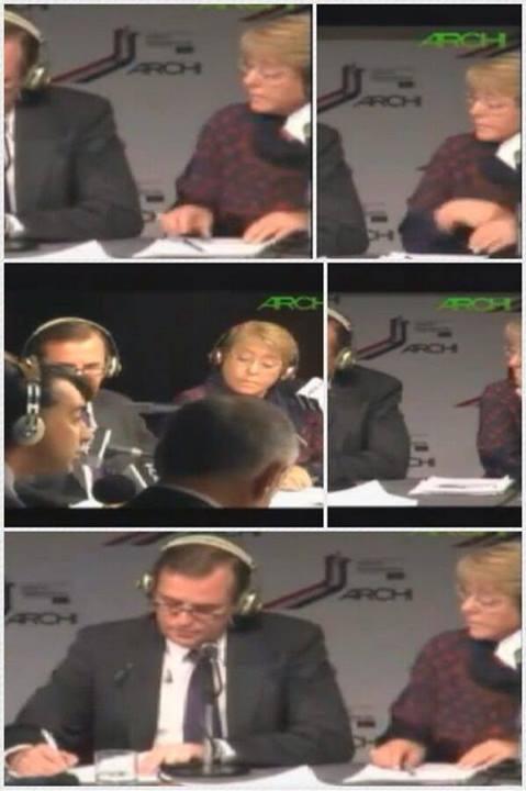 Bachelet en el debate ARCHI.