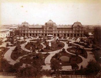 Plaza de Armas, 1908.